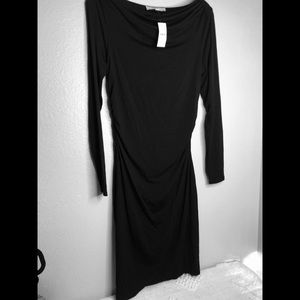 Loft black dress size M. New with tags